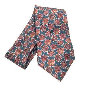 CHRISTIAN DIOR Monsieur 100% silk floral tie
